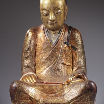 Chinese Buddhist monk. 1,050-1,150 CE. Drents Museum, Nederlands