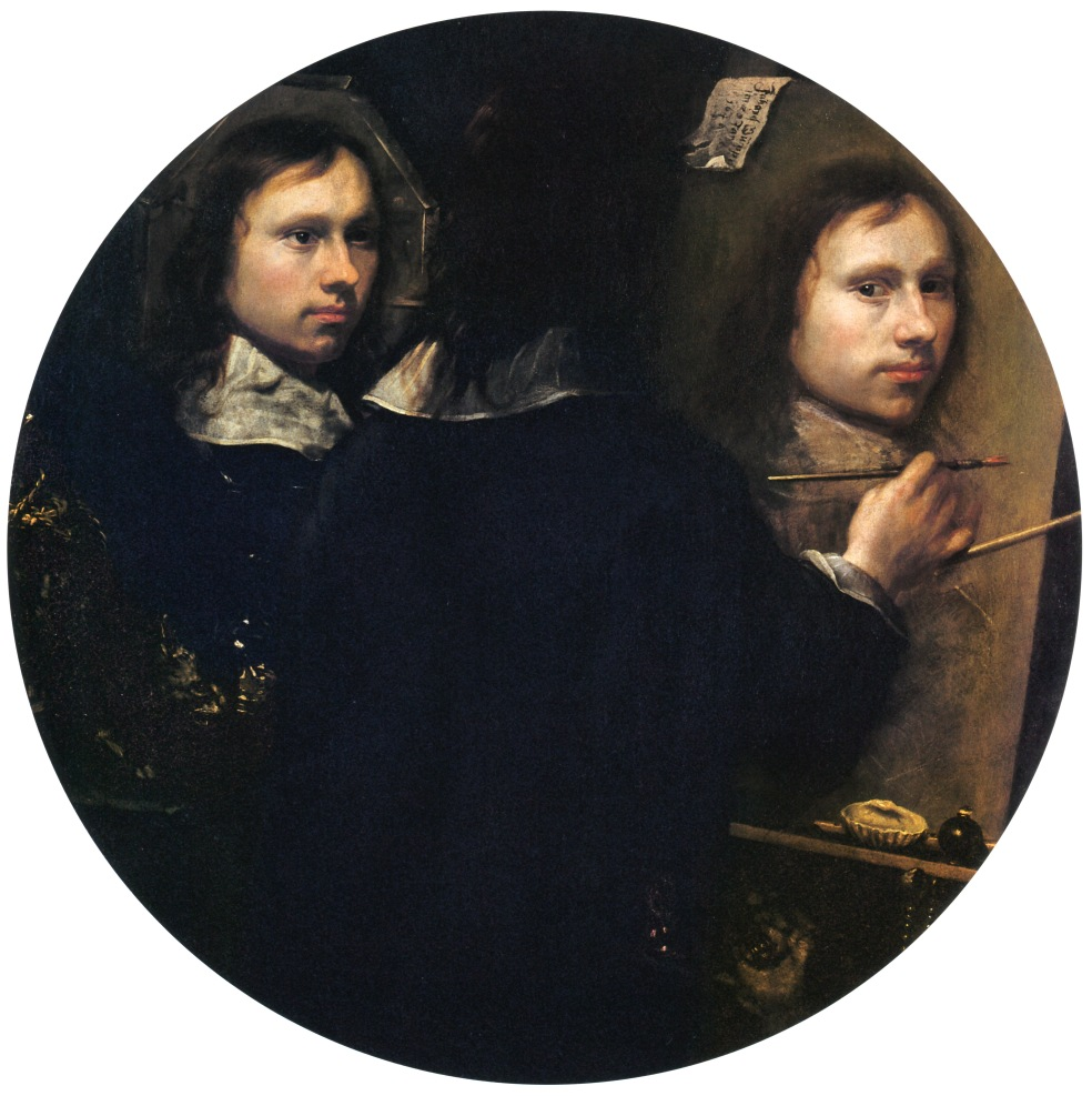 Self Portrait. Johannes Gumpp. 1646