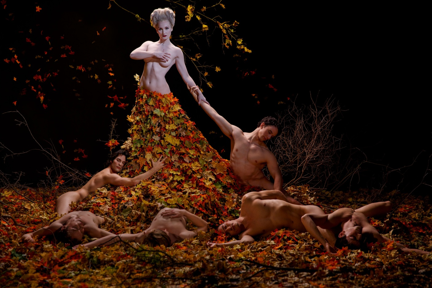 Alcina – Meghan Lindsay and the Artists of Atelier Ballet. Photo by Bruce Zinger